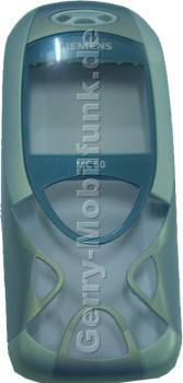 Oberschale original Siemens MC60 Aquamarine blau (Cover) incl. Displayscheibe