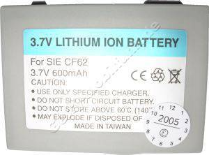 Akku Siemens CFX65 LiIon 600mAh 4,4mm