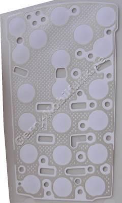 Metal Dome Foil für Tastenmatte Siemens CF62 Tastenfolie