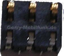 Akku Kontakte Siemens CL75 original Konnektor Batterie