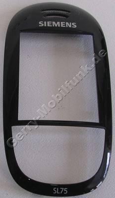Gehäuseoberteil Siemens SL75 schwarz original Cover black
