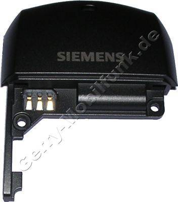 Antennengehäuse schwarz Siemens SL55 original Unterschale, Antennenabdeckung incl. Akku Konnektor und interner Antenne