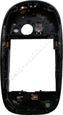 Unterer Gehäuserahmen Siemens SL75 original schwarz