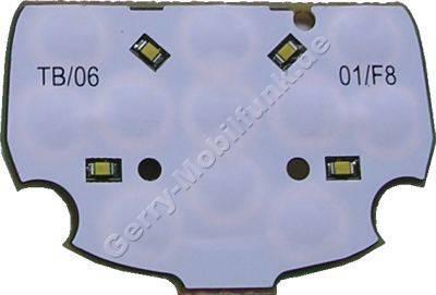 Tastaturplatine, Tastenfolie der Menütasten Siemens SL75 original Tastaturmodul