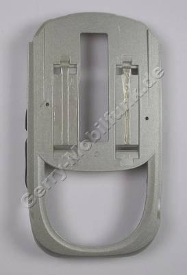 Gehäuseunterteil Slide Siemens SL55 silber/Schwarz incl. Seitenschalter, Lautstärkeschalter, Lautstärketasten, Infrarotfenster