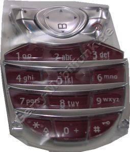 Tastenmatte Siemens C62 Kirsch rot Original