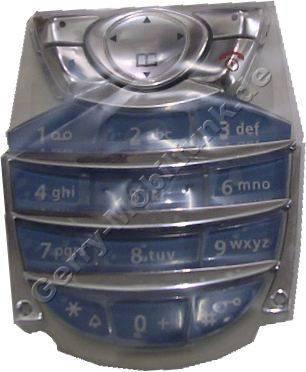 Tastenmatte Siemens C62 Tauben blau Original