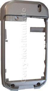 Gehäuserahmen original Siemens CF62 mit Mikrofon grau