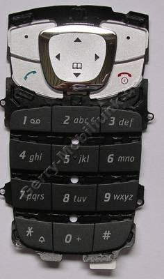 Tastenmatte schwarz Siemens CF62 Original Tastatur black