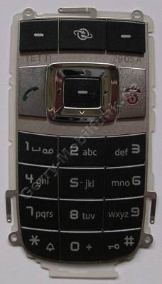 Tastenmatte schwarz Siemens CF75 Original Tastatur black