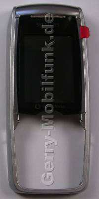 Oberschale Siemens CX75 schwarz Original  Cover mit Displayscheibe