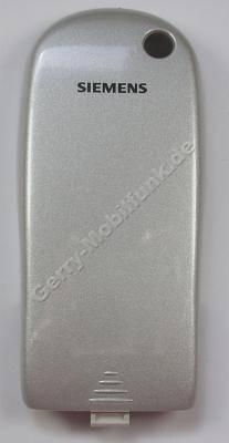 Akkufachdeckel silber Siemens C45 silber original Batteriefachdeckel silver