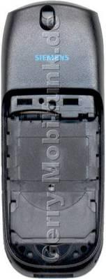 Gehäuseunterteil Siemens M35 Original grey grau mit Antenne