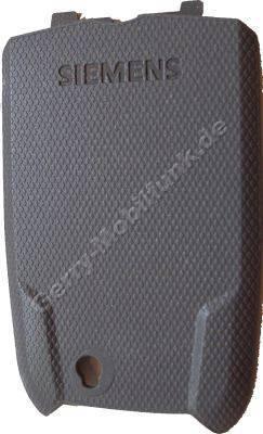 Akkufachdeckel Siemens M65 grau Original  ( cool grey )