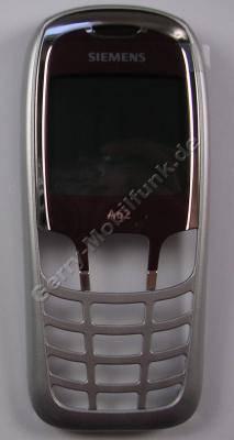 Oberschale violet  Siemens A62 original Cover mit Displayscheibe