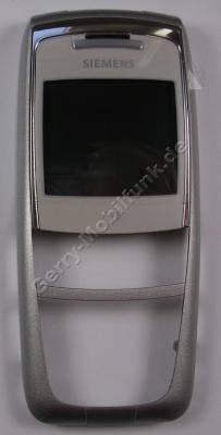 Oberschale Siemens A75 original polar silber (Gehäuseoberschale) (cover)