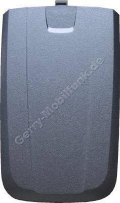 Akkufachdeckel Siemens AX75 original ice (Batteriefach) (cover) grau/silber
