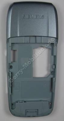 Gehäuserahmen Gehäuseträger Siemens AX75 original ice blue (Montagerahmen) Cover incl. interner Antenne, Vibrationsmotor, Mikrofon, Unterschale
