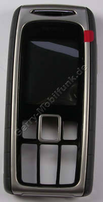 Oberschale schwarz Siemens M75 volcano black Original Cover mit Gehäusedichtung, Seitentasten, Infrarotfenster, Displayscheibe L50658-A144-A1