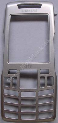 Oberschale zirconia Siemens S75 Original silber, Cover