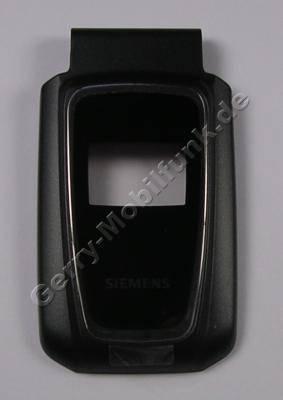 Oberschale außen original Siemens CF62 cosmo schwarz mit kleiner Displayscheibe