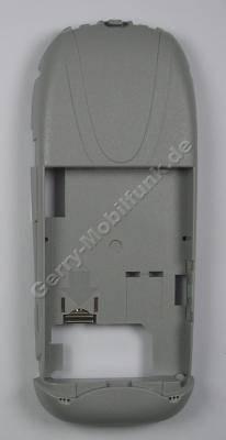Unterschale grau Siemens A57 pebble Original B-Cover interner Antenne und Mikrofon, Akkuaufnahme, Gehäuseträger