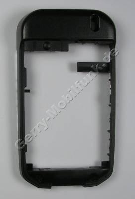 Gehäuserahmen schwarz original Siemens CF62 incl. mikrofon