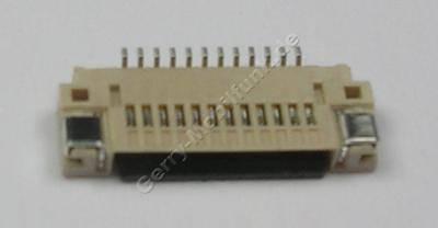 SMD Konnektor Siemens ST55 original Konnektor vom Tastaturmodul auf der Hauptplatine, Anschlußbuchse