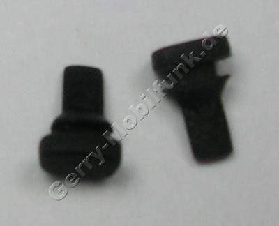 2 Stück Puffer Gehäuseklappe schwarz original Siemens CF62 (beide Puffer)