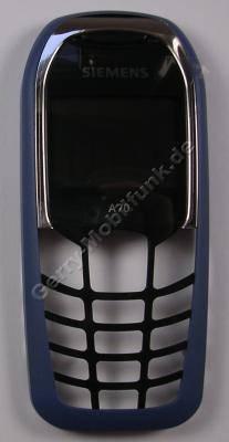 Oberschale Siemens A70 blau paladium Original A-Cover mit Displayscheibe